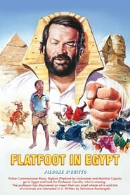 Poster Flatfoot in Egypt 1980