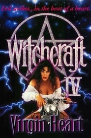 Poster Witchcraft IV: The Virgin Heart 1992