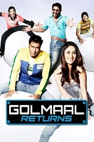 Golmaal Returns 2008 Hindi Movie BluRay 400mb 480p 1.2GB 720p 4GB 15GB 1080p