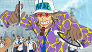 One Piece Season 13 Episode 467 : Even If It Means Death! Luffy vs. the Navy; The Battle Starts!