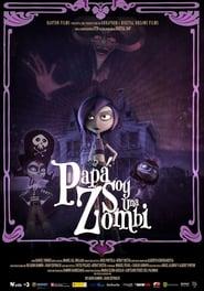 Poster Papa, je suis une zombie 2012
