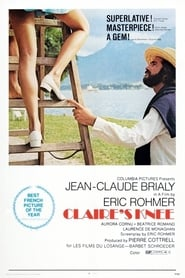 Poster Claire's Knee 1970