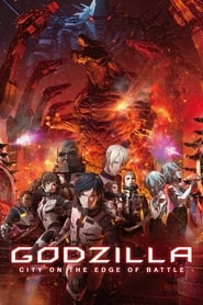 Poster Godzilla: City on the Edge of Battle 2018