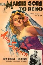 Poster Maisie Goes to Reno 1944