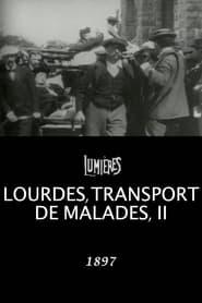 Lourdes, transport de malades II 1897