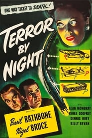 Poster Terror by Night 1946