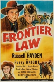 Poster Frontier Law 1943