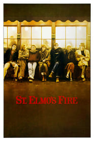 Poster St. Elmo's Fire 1985