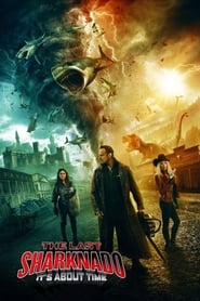 The Last Sharknado: It's About Time (2018) Sub Indo
