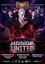 ROH Honor United: London Official Movie Poster