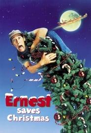 Poster Ernest Saves Christmas 1988