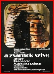 Affiche de Film The Tyrant's Heart, or Boccaccio in Hungary