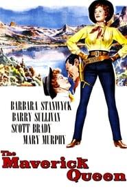 Poster The Maverick Queen 1956