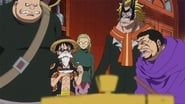 One Piece Season 17 Episode 695 : Risking Their Lives! Luffy is the Trump Card for Victory!