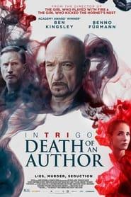 Poster Intrigo: Death of an Author