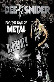 Dee Snider – For The Love Of Metal Live