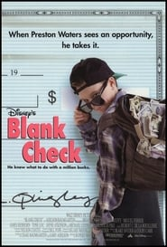 Poster Blank Check 1994