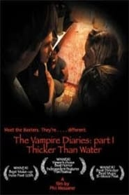 Poster Thicker Than Water: The Vampire Diaries Part 1 2008