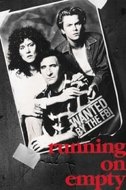 Poster Running on Empty 1988
