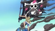 One Piece Season 20 Episode 885 : In the Dark Recesses of the Holyland! A Mysterious Giant Straw Hat!