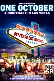 Poster for One October: A Nightmare In Las Vegas