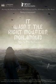 Ce n'était pas la bonne montagne, Mohammad (2020)