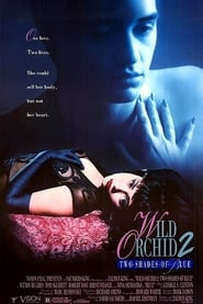 Wild Orchid II: Two Shades of Blue 1992 ポスター