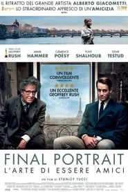 Final Portrait – L'arte di essere amici streaming