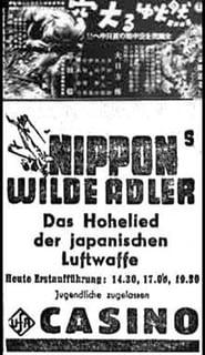 Nippons wilde Adler 1940