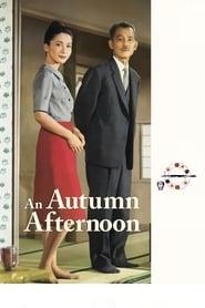 Poster An Autumn Afternoon 1962