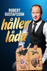 Robert Gustafsson håller låda