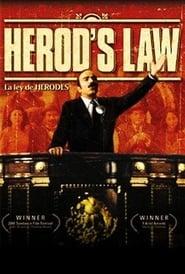 La ley de Herodes Poster