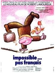 Impossible pas français