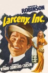 Larceny, Inc. (1942) online ελληνικοί υπότιτλοι
