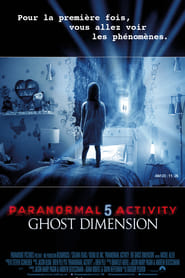 Paranormal Activity 5 : Ghost Dimension streaming