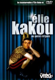 Poster Élie Kakou - Au Point Virgule 1992