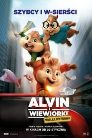 Alvin i wiewiórki: Wielka wyprawa / Alvin and the Chipmunks: The Road Chip (2015)