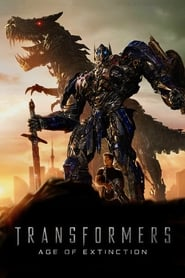 Poster for the movie, 'Transformers: Age of Extinction'
