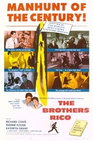 Poster The Brothers Rico 1957