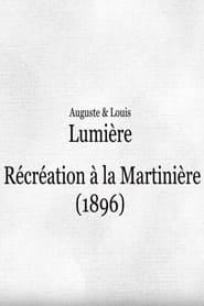 Récréation à la Martinière 1895