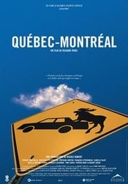 Québec-Montréal plakat