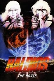 Poster Space Warriors Baldios 1981