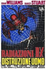 Radiazioni BX: distruzione uomo 1957
