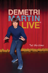 Poster Demetri Martin: Live (At The Time) 2015