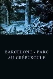 Barcelone - Parc au crépuscule