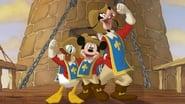 Mickey, Donald, Dingo- Les trois mousquetaires