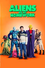 Poster Aliens Ate My Homework
