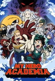 Poster My Hero Academia - Season 4 Episode 5 : Let's Go, Gutsy Red Riot 2020