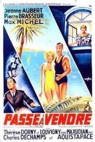 Passé à vendre (1936)