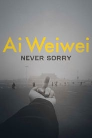 Poster for Ai Weiwei: Never Sorry